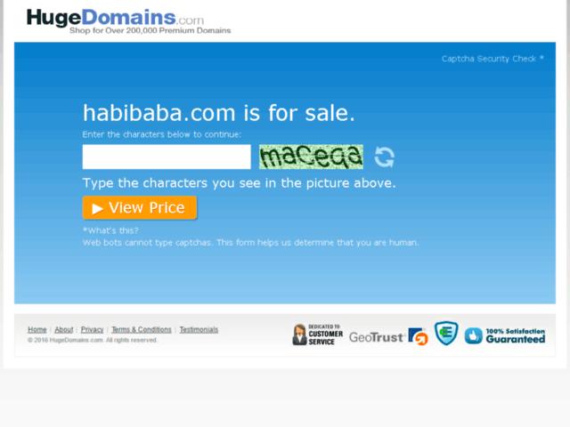 Survey of Hugedomains.com - habibaba.com is for sale (habib aba)  - Karaoke-israel.com