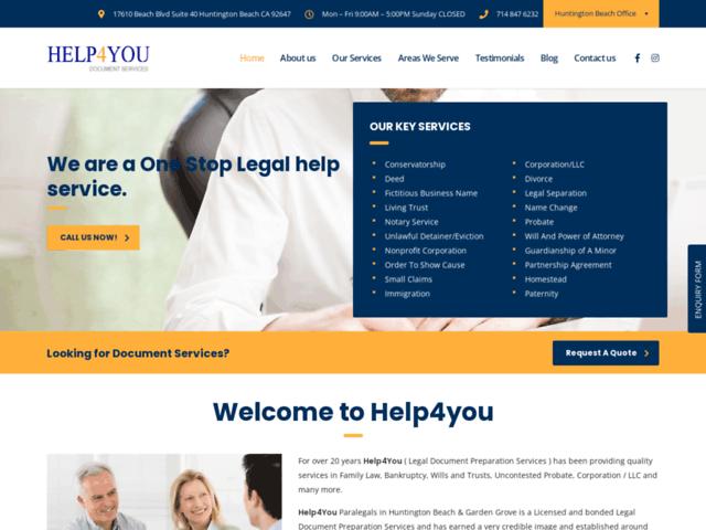 Document Prep Services Orange County