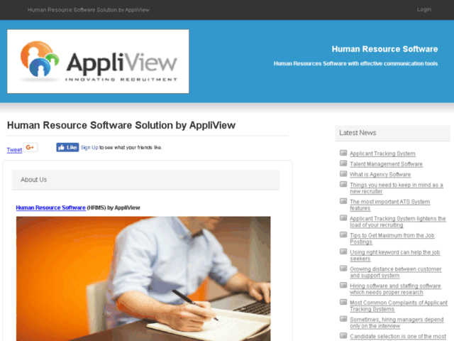 Human Resource Software Solution by AppliView | Human Resource Software | Melbourne, Victoria