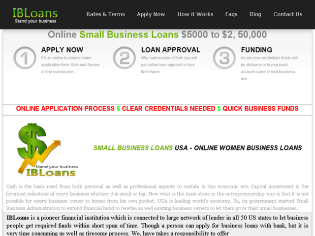 Small Business Loans Texas