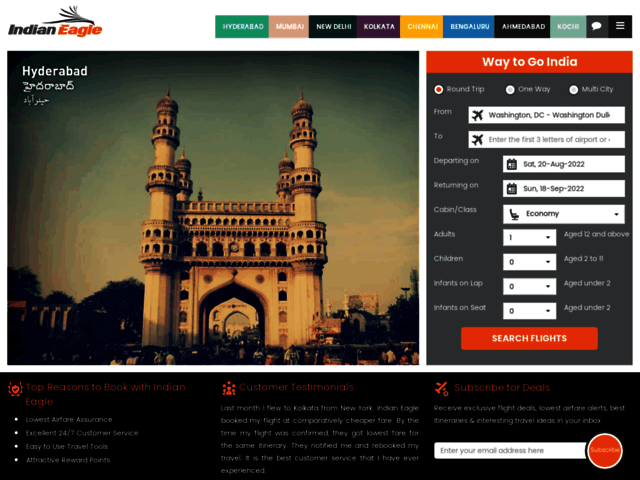 Book Cheapest flights to India