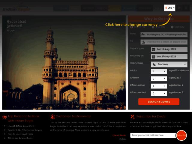Cheap Business Class Flights to Hyderabad (HYD)