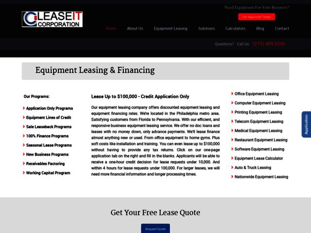Telecom Equipment Leasing