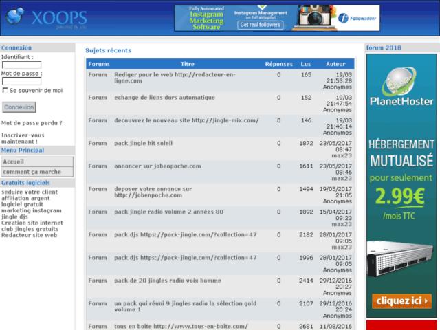 Survey of Comment ça marche - forums logiciels gratos  - Karaoke-israel.com