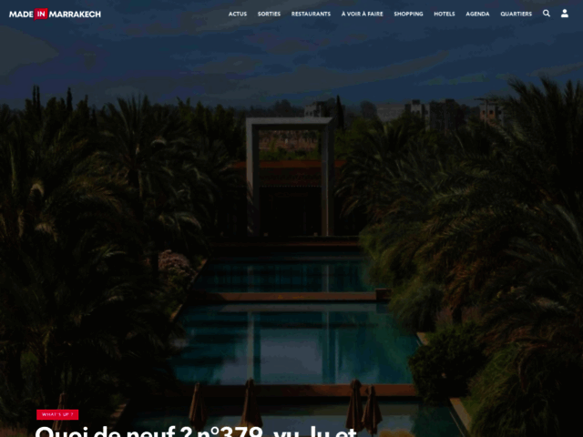 Survey of Made in marrakech - le guide en ligne de marrakech  - Karaoke-israel.com