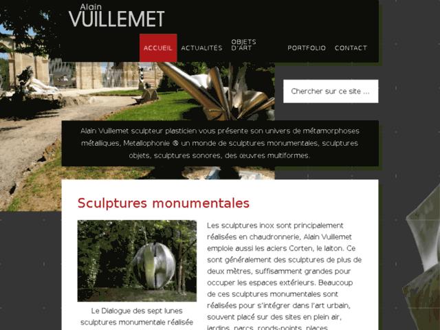 Survey of Sculptures inox - alain vuillemet  - Karaoke-israel.com