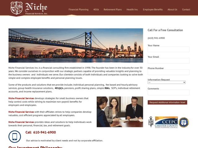 Niche Financial Services Inc.Home - Niche Financial Services Inc.