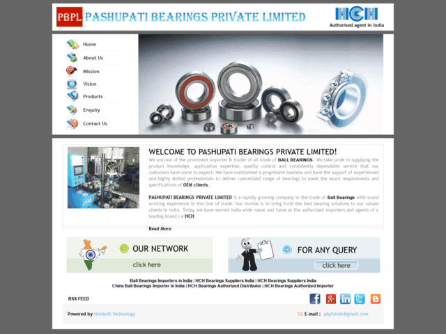 Ball Bearings Importers in India, Hch Bearings Traders in Delhi,