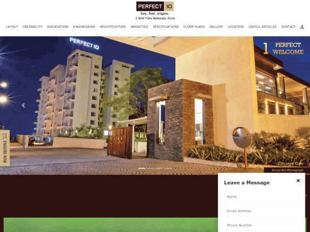 2BHK and 3BHK Flats in Pune. Prime residential property in Pune.