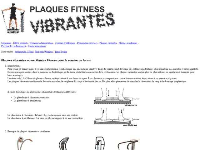 Survey of Plateforme vibrante ou plaque vibrante pour le fitness  - Karaoke-israel.com