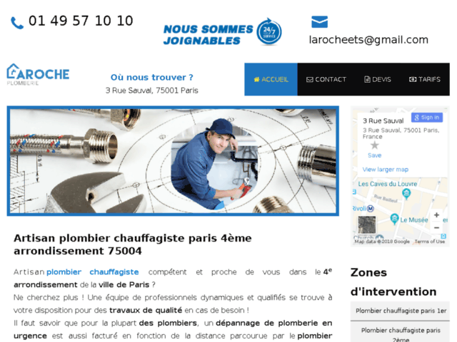Artisan Plombier Paris 4 Eme
