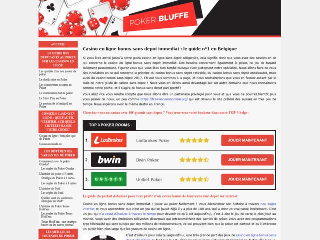 Survey of Casino en ligne bonus sans depot immediat | top 3 casinos en belgique  - Karaoke-israel.com