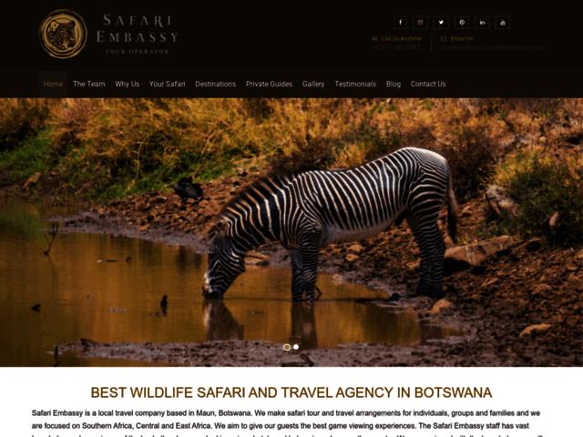 Photographic African Safari Adventures