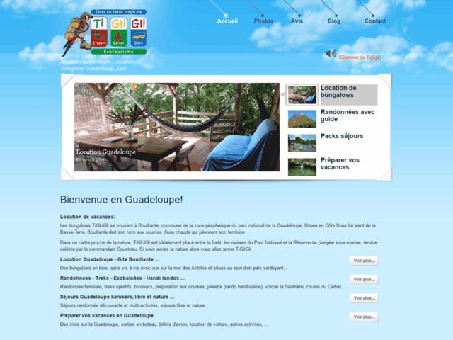 Survey of Location guadeloupe - location bungalow guadeloupe - gite bouillante  - Karaoke-israel.com