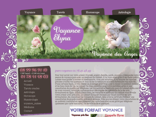 Survey of Cabinet voyance elyna medium pur spirituel. voyance pure par don. consultation voyance par telephone  - Karaoke-israel.com