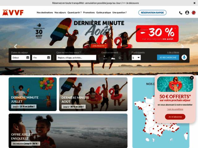 Vvf villages vacances class dans les meilleurs sites 2014 for Meilleur site reservation voyage