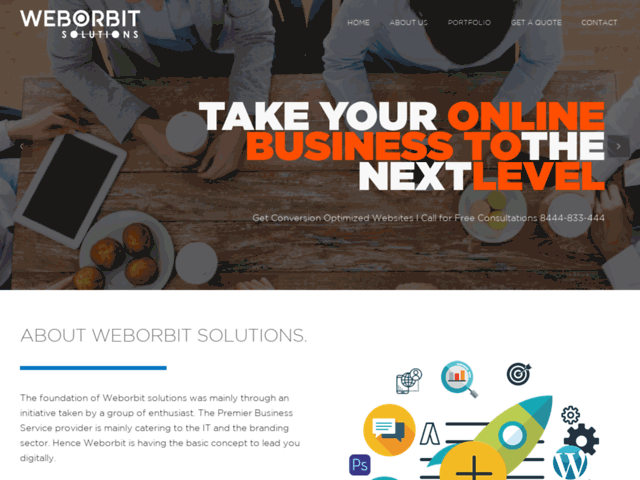 Best Web Design Company in Kolkata - Weborbitsolutions.com