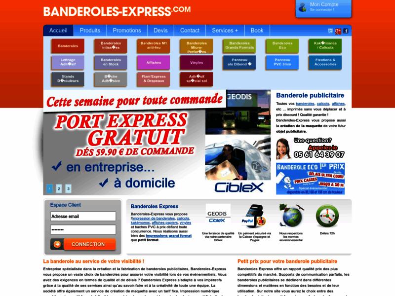 Referencement Google Perles-et-castelet : Banderoles publicitaire