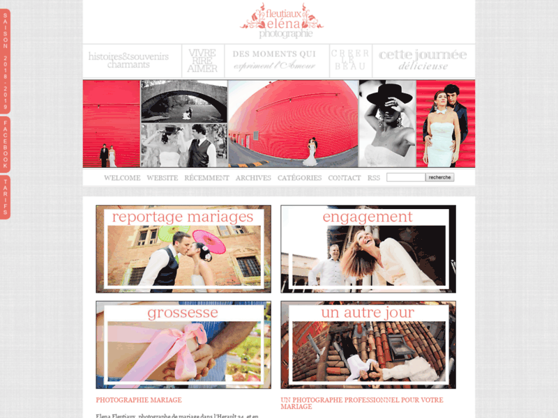 1ère page Google Toulouse : Photographe mariage