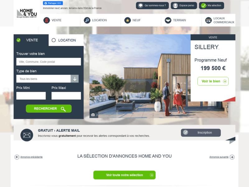 Appartement à louer Reims