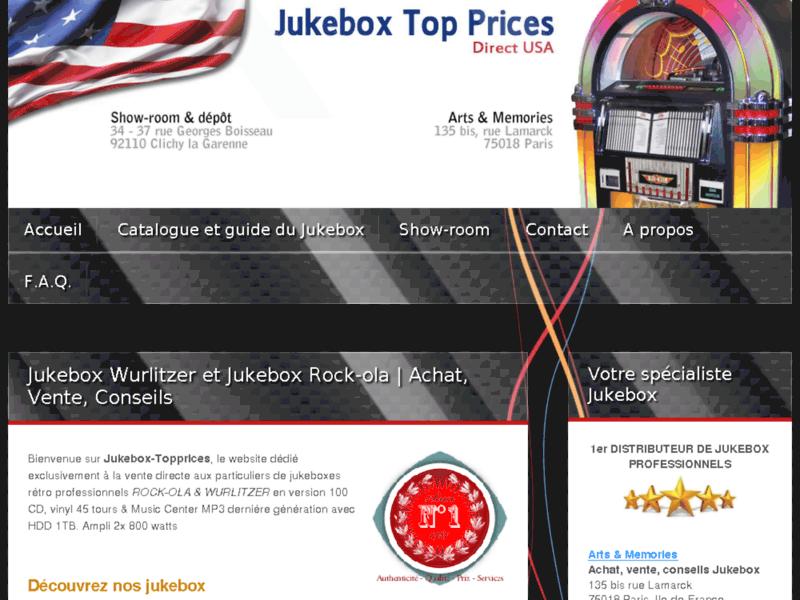 Referencement Google Paris : Juke box