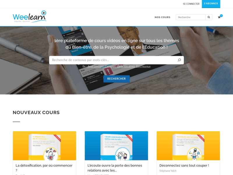 Referencement Google Paris : Weelearn