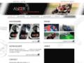 Détails : Poignée passager pour motos sportives A-Sider