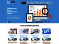 Referencement progressif Référencement progressif pour site internet, destiné aux professionnels, entreprises et particuliers.