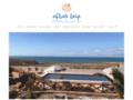 Hotel à Mirleft au sud d'Agadir au Maroc.