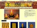 Détails : L'Alchimie des Bougies - Bougies naturelles en pure cire d'abeille