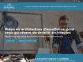 Détails : Intégrer une école d'architecture