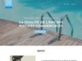 Astéries, la qualité de traitement de l'eau des piscines commerciales