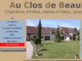 Détails : Au Clos de Beaulieu, chambres et table d'hôtes