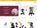 Voir la fiche détaillée : Poussette bébé, articles de puériculture – Baby Roi