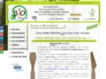 Détails : Ustensiles en bois à usage unique de BioUstensiles