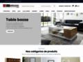 Détails : Vitrine murale et meuble en bois sur Bm Diffusion