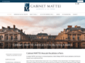 Voir la fiche détaillée : Cabinet Mattei, l'expérience à votre service à Paris