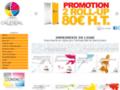 Voir la fiche détaillée : Calendal Imprim - Impression en ligne avec l'imprimerie en ligne