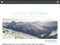 Voir la fiche détaillée : Location d'appartement à Champagny en Vanoise (Savoie, Alpes)