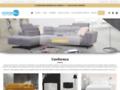 Détails : Conforeco: le canapé d'angle pas cher