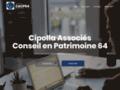 Voir la fiche détaillée : Cipolla Associes Conseil en Gestion de Patrimoine 64