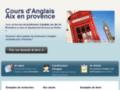 Voir la fiche détaillée : cours d'anglais aix en provence
