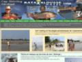 Sénégal, centre de pêche, hôtel Katakalousse