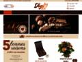 Vente en ligne de cadeaux autour du chocolat