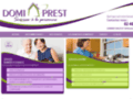 Les services à la personne et les services de confort de Domiprest sont à votre disposition