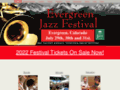 Evergreen Jazz Festival