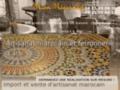 Maroc Medin'Art, boutique d'artisanat marocain, Étoile-sur-Rhône