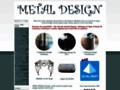 Détails : Fer et Art -  Fer forgé et aluminium: portails