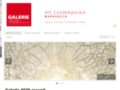 Détails : galerie d'art marrakech