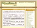 Screenshot de Geneaboule, Généalogie des Bouledogues Français par Robothumb.com